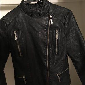 Jou Jou Jackets & Coats - Black leather jacket